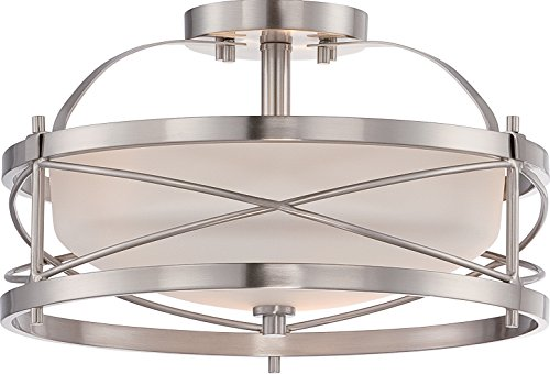 Nuvo Lighting 60/5331 Two Light Semi Flush Mount, 14