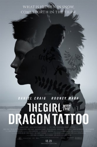 GIRL WITH THE DRAGON TATTOO 11X17 INCH PROMO MOVIE POSTER