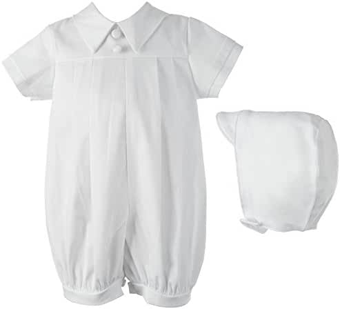 Lauren Madison Baby Boys' Two-Piece Baptism Set