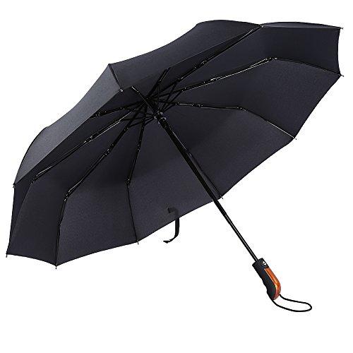 Portable Umbrella Canopy : Eecoo windproof travel umbrella ribs unbreakable auto