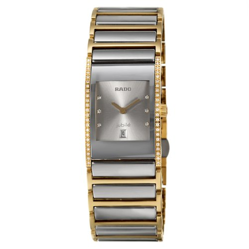 Amazon.com  Rado Integral Jubile Women s Quartz Watch R20794702  Watches ac2c3d802