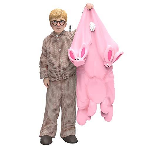 Hallmark Keepsake Ornament 2019 Year Dated A A Christmas Story Ralphie Gets a Gift Pink Bunny Pajamas, 11