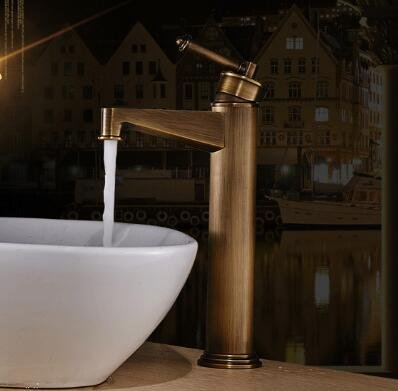 Maifeini The Stylish Fine Antiques Electroplated Copper Bathroom ...