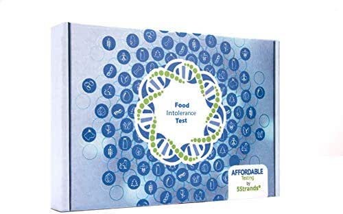 5Strands | Affordable Testing | Food Intolerance Test | at Home Hair Analysis Kit | Tests Over 550 Food Intolerances & Sensitivities | Protein, Grains, Gluten, Lactose | Results in 7-10 Days | 1 Pack