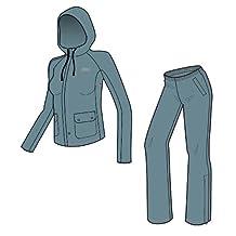 Coleman Women's PVC/Poly Rain Suit