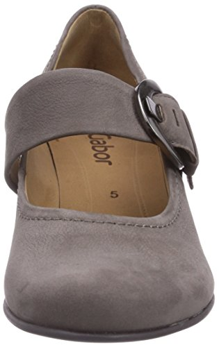 da Donna Grigio Gabor con Shoes Scarpe grau Fumo Tacco wqXYIZX