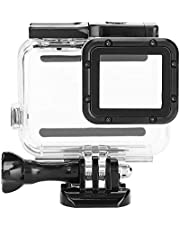 Action Camera Waterproof Case for Gopro Hero 7 Silver,Protective Waterproof Dive Housing Case to 45m,Suitable for Various Underwater.(with Touch Screen)