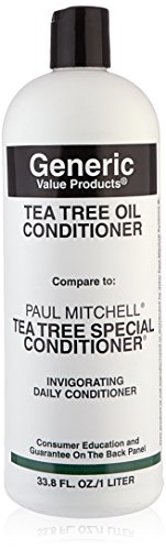 Generic Value Products Tea Tree Oil Conditioner compare to Paul Mitchell Tea Tree Special Conditioner 33.8 oz. from Generic Value Products