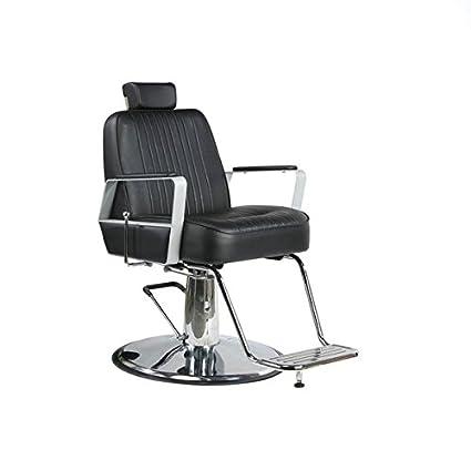 Sillones barbero para salón de peluquería (MD Linus: Amazon ...