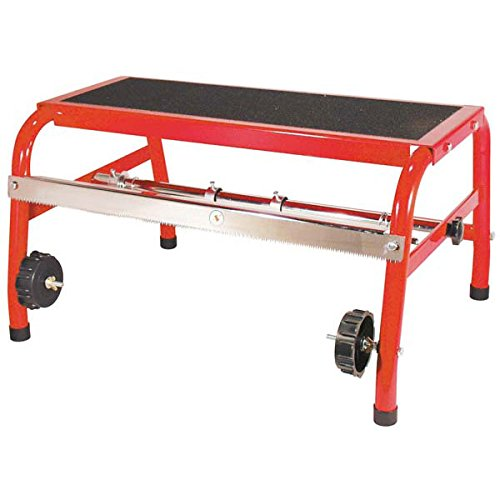 AES Industries 18' Portable Stand-On Step Masker with Slip Free Step Tape