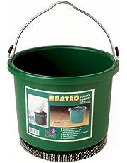 Farm Innovators Model HB-60 2-Gallon (9-Quart) Heated Bucket, 60-Watt