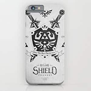 Society6 - Legend Of Zelda Hylian Shield Foundry Logo Iconic ¡­ iPhone 6 Case by Barrett Biggers