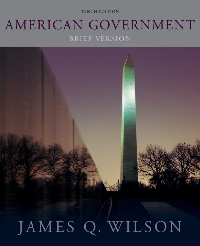 Bundle: American Government: Brief Version, 10th + Latino-American Politics Supplement