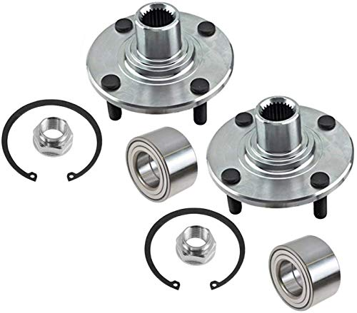 03 ford focus front wheel bearing - 9