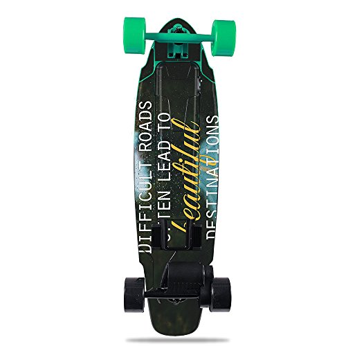 MightySkins Skin for Yuneec E-GO2 Electric Skateboard - Difficult Roads | Protective, Durable, and Unique Vinyl Decal wrap Cover | Easy to Apply, Remove, and Change Styles | Made in The USA