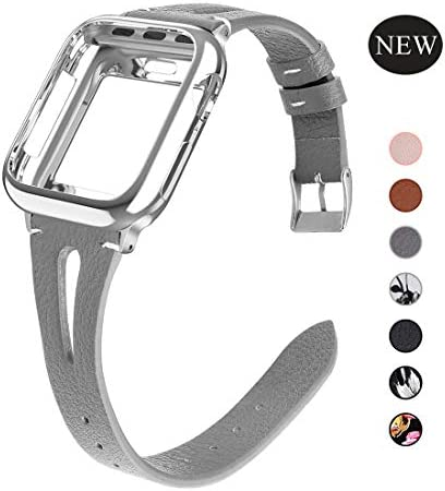 OULUOQI Compatible Leather Replacement iWatch product image