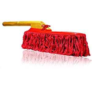 California Car Duster 62442 Standard Car Duster with Wooden Handle