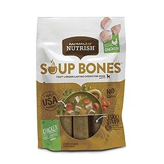 Rachael Ray Nutrish Soup Bones Dog Treats, Chicken & Veggies Flavor, 24 Bones (8 pack of 3 bones)