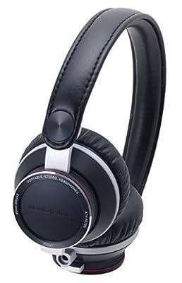 Audio Technica ATHRE700 BK On-Ear Headphones
