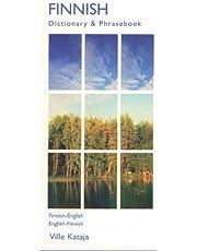 Finnish-English/English-Finnish Dictionary & Phrasebook