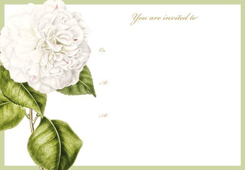 Wedding Invitations Bridal Shower Invitations Camellia Garden Invitation Pk of 16
