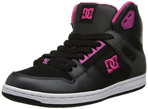 Skate Rebound DC Fuchsia Black Shoes Youth B7nWwqUv4