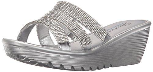 0995237a9726 Skechers Cali Women s Parallel Sparkle Eyes Platform Wedge Sandal - Buy  Online in UAE.