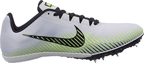 Nike Womens Zoom Rival M 9 Track and Field Shoes (Grey/Volt/8.5 B (M) US) by Nike