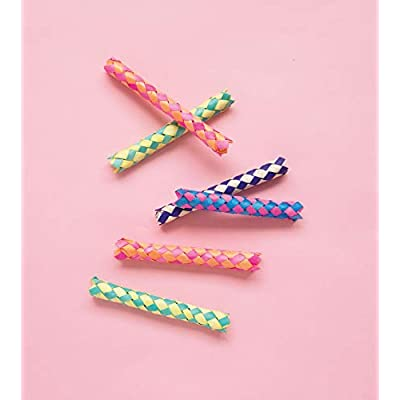 Finger Trap Party Favors, 1 Pack: Toys & Games