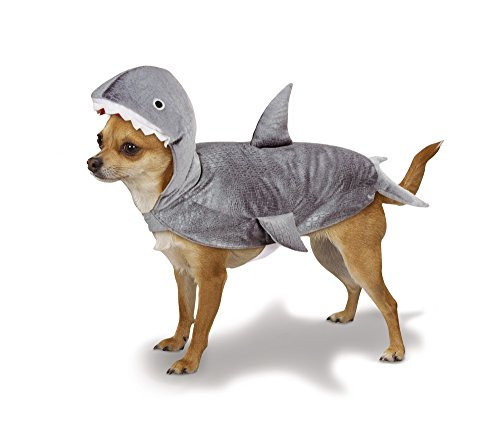 Casual Canine Gray Shark Costume for Dogs, Extra