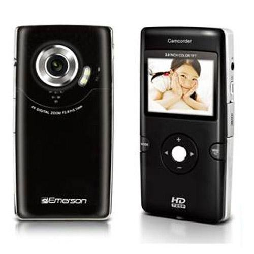 emerson 720p camcorder - 4