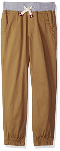 Tommy Hilfiger Little Boys' Pull on Twill Stretch Jogger Pant, The Chino, 4