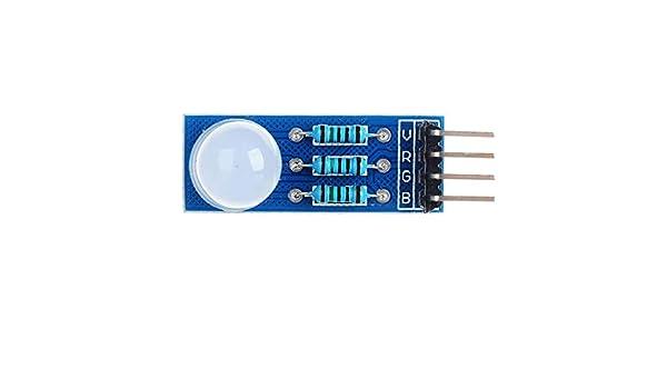 YKDY LDTR B00010 - Módulo de luz LED RGB de 7 Colores para Arduino ...