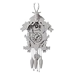 Torre & Tagus Village Grey Cuckoo Clock, Large