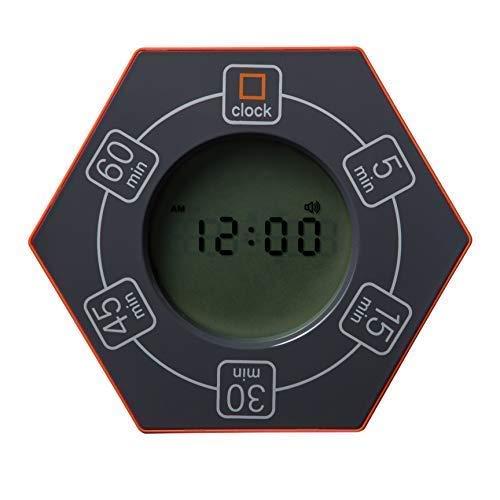 Znewtech Hexagon - Reloj despertador y temporizador ...