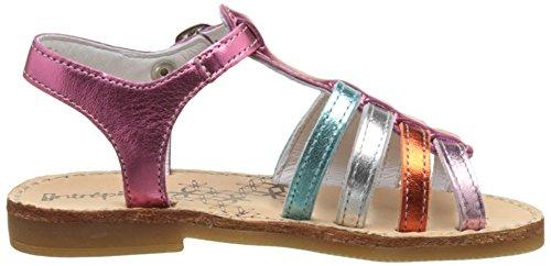 babybotte Mädchen Ylona4 Peep-Toe Multicolore (METALLISE Multi)