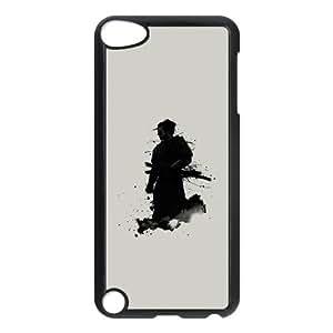 iPod Touch 5 Case Black Samurai QPO Life Cell Phone Case