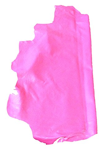 Reed Lamb Skin Leather Hides - Premium Buttery Soft Touch Skin (Pink) (Pink Leather Skin)