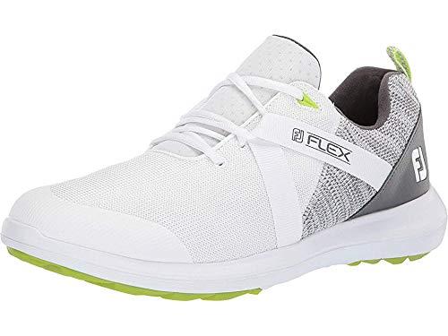 FootJoy Fj Flex Spikeless Golf Shoes White 7.5 Medium