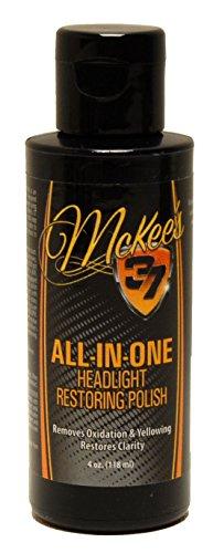 Silver Star Clay - McKee's 37 MK37-120 All-In-One Headlight Restoring Polish, 4 fl. oz