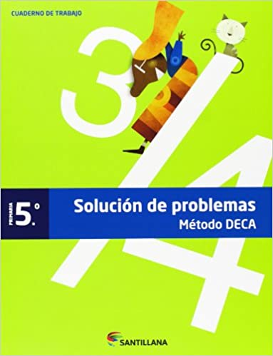 Cuaderno Problemas Metodo Deca 5 Primaria - 9788468009797 por Aa.vv. epub