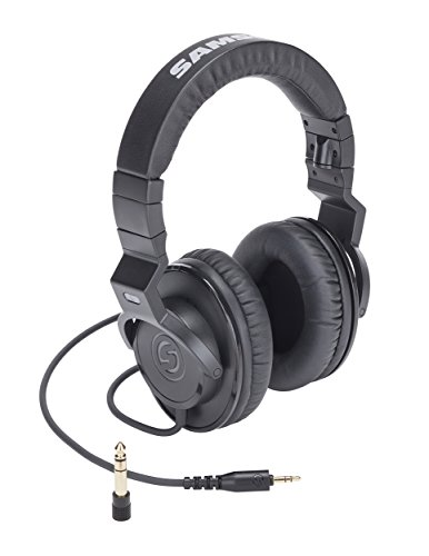 (Samson Z25 Closed Back Over-Ear Studio Monitor Headphones)