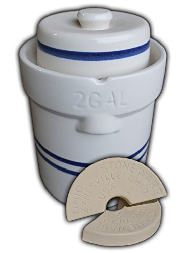 pickling crock set - 3