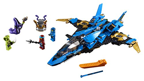 419rUUq8lHL - LEGO NINJAGO Legacy Jay's Storm Fighter 70668 Building Kit, New 2019 (490 Pieces)
