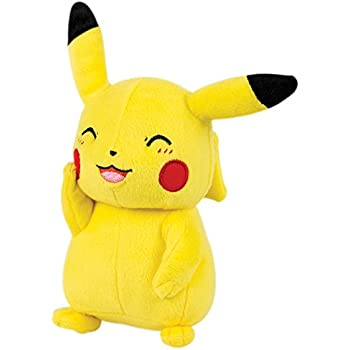 """Pokemon Plush Angry Scowling Pikachu OFFICALLY LICENSED TOMY 9/"""" Soft Toy Figure"""