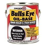Zinsser Bulls Eye 128 Oz White Oil-Base Primer Package of 4