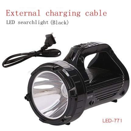 Luz de búsqueda LED Luz de búsqueda Linterna de caza Linterna de ...