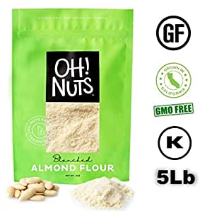 Amazon.com : 5LB Almond Flour Blanched, Extra Fine Ground
