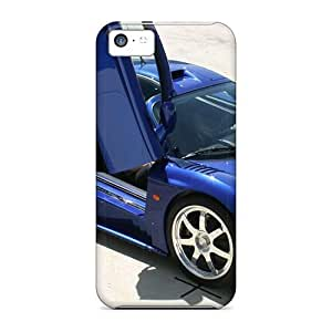 MMZ DIY PHONE CASENew Style Tpu 5c Protective Case Cover/ Iphone Case - Saleen S7 Twin Turbo