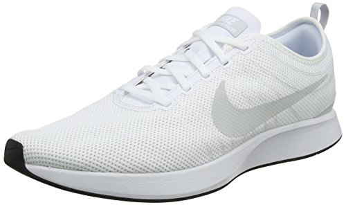 Nike Dualtone Racer Mens Running Trainers 918227 Sneakers Shoes (UK 11 US 12 EU 46, White Pure Platinum 102)